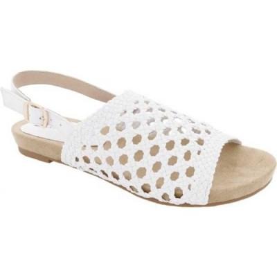 ベリーニ Bellini レディース サンダル・ミュール シューズ・靴 Newable Slingback White Woven