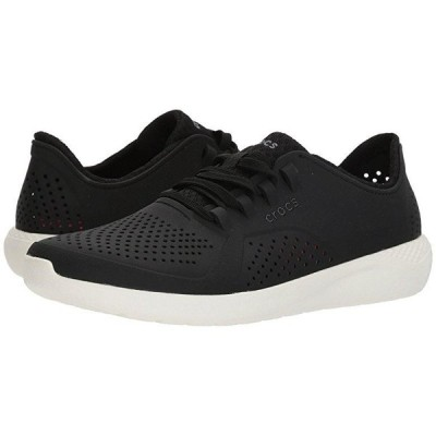 クロックス LiteRide Pacer メンズ スニーカー 靴 シューズ Black/White