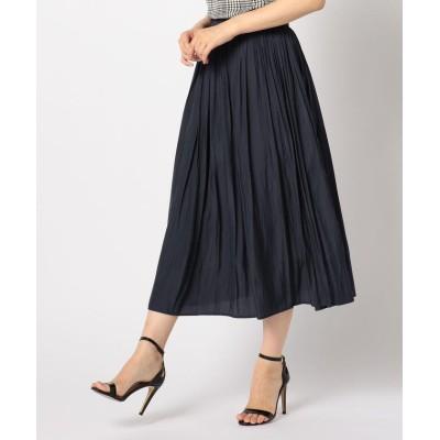 fredy emue クラッシュサテンロングスカート