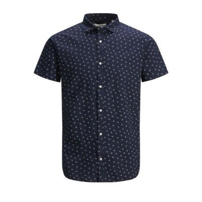 ジャック アンド ジョーンズ メンズ シャツ トップス Men's Blackpool Short Sleeve Shirt