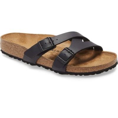 ビルケンシュトック BIRKENSTOCK レディース サンダル・ミュール スライドサンダル シューズ・靴 Yao Slide Sandal New Black