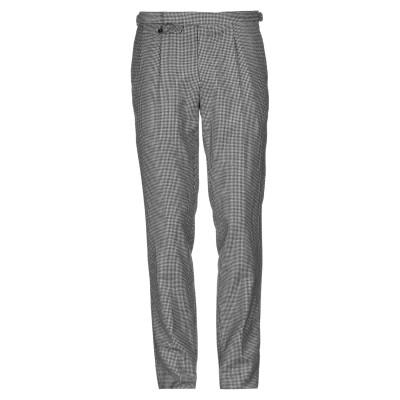 インコテックス INCOTEX パンツ ブラック 50 スーパー100 ウール パンツ