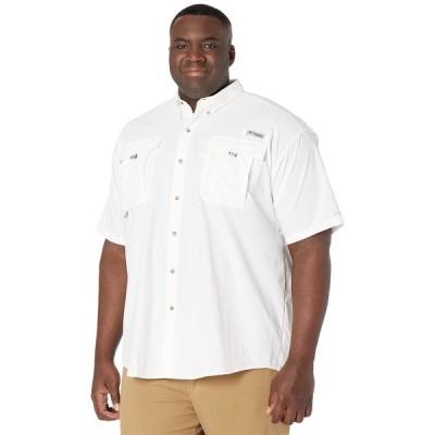コロンビア シャツ トップス メンズ Big & Tall Bahama II Short Sleeve Shirt White