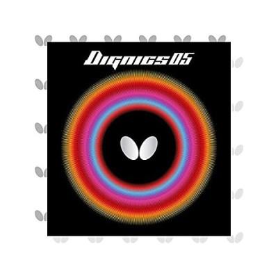 送料無料!バタフライ(Butterfly) 卓球 ラバー ディグニクス 05 ハイテンション 裏ソフト 06040 レッド 厚