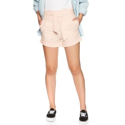 ボルコム Volcom レディース ショートパンツ ボトムス・パンツ paper bag shorts Light Peach