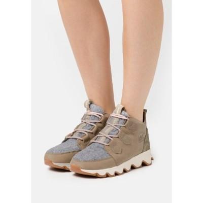 ソレル ブーツ&レインブーツ レディース シューズ KINETIC CARIBOU NATUREBE - Winter boots - beige