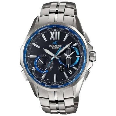 OCW-S3400-1AJF CASIO カシオ OCEANUS オシアナス Manta 送料無料 メンズ 腕時計 スマートアクセス プレゼント マンタ 電波ソーラー クロノグラフ チタン