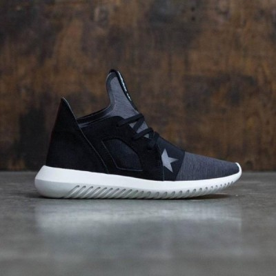ユニセックス スニーカー シューズ Adidas Women Tubular Defiant (black / core black / off white)