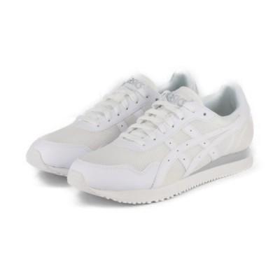 アシックスタイガー TIGER RUNNER 1191A207 100 メンズ スニーカー:ホワイト asicsTiGER 白スニーカー 白靴 通学スニーカー 白スクールシューズ 通学靴