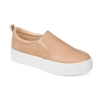 ジャーニーコレクション スニーカー シューズ レディース Women's Patrice Platform Sneakers Tan