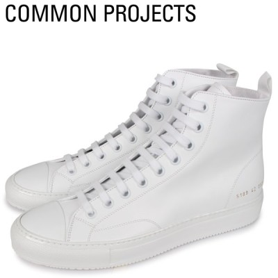 Common Projects コモンプロジェクト トーナメント ハイ スニーカー メンズ TOURNAMENT HIGH IN LEATHER ホワイト 白 5189-0506