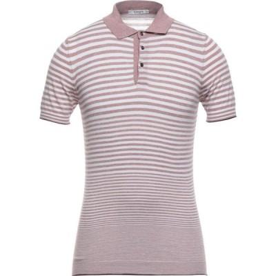 カングラ カシミア KANGRA CASHMERE メンズ ニット・セーター トップス sweater Pastel pink