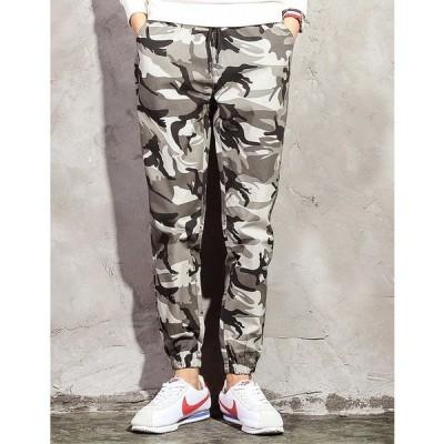 メンズ パンツ ジョガーパンツ ファッション 裾ゴム パンツ ズボン ボトムス スラックス イージーパンツ mzb14
