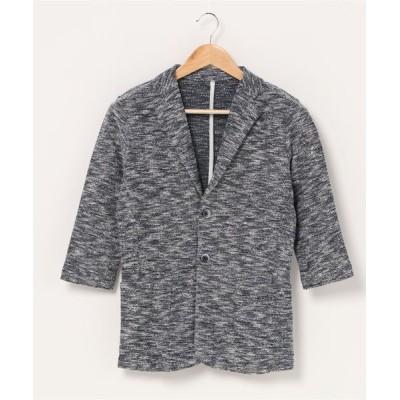 CustomCulture + 291295 HOMME / 【REQUEST】 七分袖カット ジャケット MEN ジャケット/アウター > テーラードジャケット
