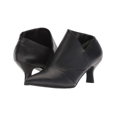 Adrianna Papell アドリアナパペル レディース 女性用 シューズ 靴 ブーツ アンクルブーツ ショート Hayes - Black Stretch Smooth