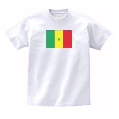 セネガル 国 国旗 Tシャツ