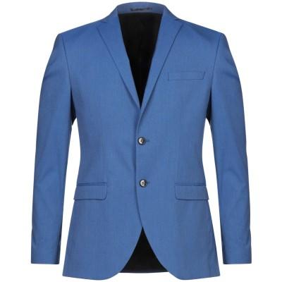 SELECTED HOMME テーラードジャケット ブルー 52 ポリエステル 65% / レーヨン 33% / ポリウレタン 2% テーラードジャ