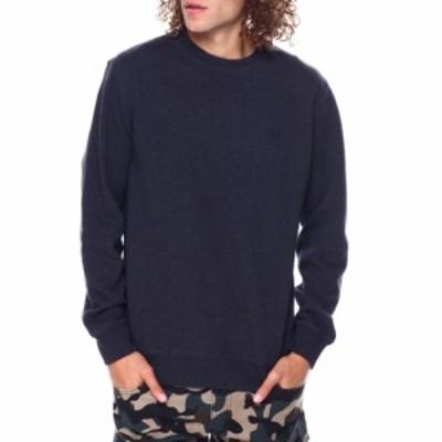 チャプス Chaps メンズ スウェット・トレーナー トップス iconic crewneck sweatshirt Dark Grey