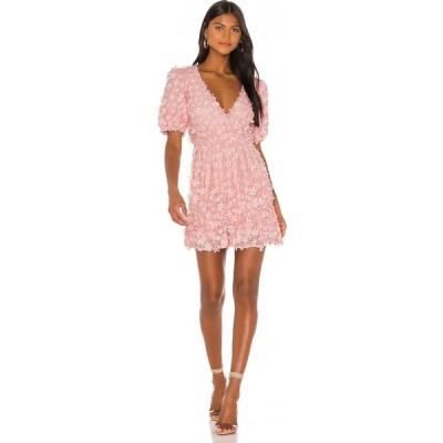 マジョレル MAJORELLE レディース ワンピース ミニ丈 ワンピース・ドレス Tanner Mini Dress Baby Pink