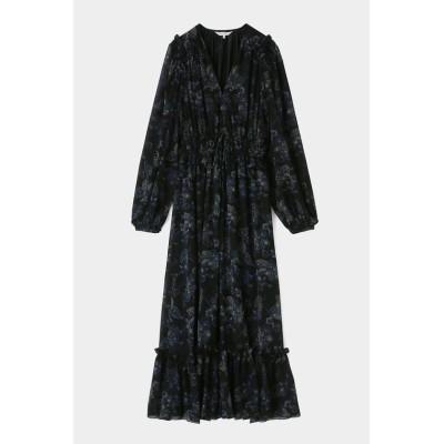 【マウジー】 PAISLEY PATTERN ドレス レディース ブラック 1 MOUSSY
