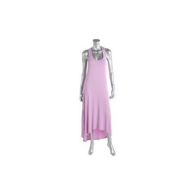 スプレンディット ドレス ワンピース Splendid 3955 レディース パープル Modal Blend Racerback Maxi Tank ドレス M BHFO