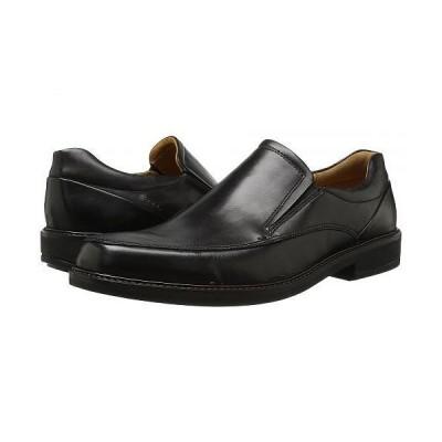 ECCO エコー メンズ 男性用 シューズ 靴 ローファー Holton Apron Toe Slip-On - Black
