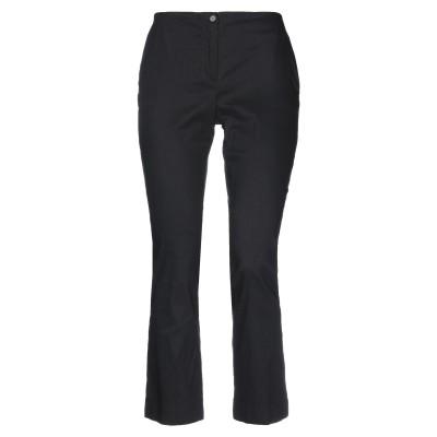 MALLONI パンツ ブラック 44 リネン 40% / コットン 31% / ナイロン 24% / ポリウレタン 5% パンツ