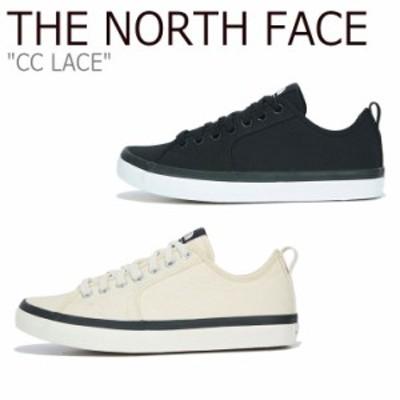 ノースフェイス スニーカー THE NORTH FACE CC LACE シーシー レース OFF WHITE オフホワイト BLACK ブラック NS93M04A/B シューズ