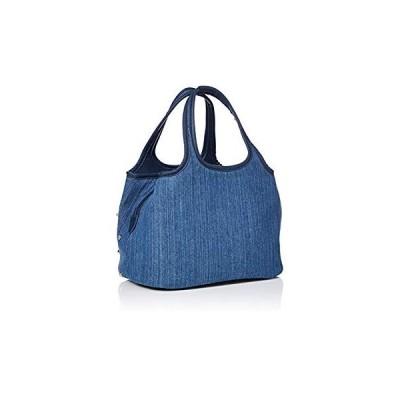サボイ SAVOY(サボイ)デニム素材にカラフルなスタッズを施したバッグ。 SM18800302 ブラウン