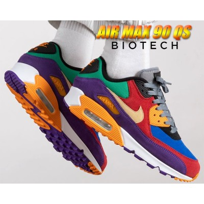 【ナイキ エアマックス 90 バイオテック】NIKE AIR MAX 90 QS VIOTECH university red/pale vanilla cd0917-600 AM90