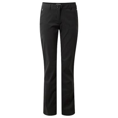 クラッグホッパーズ カジュアルパンツ レディース ボトムス Craghoppers Women's Kiwi Pro Trouser Black