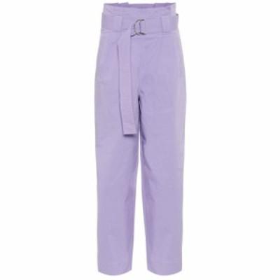 ガニー Ganni レディース ボトムス・パンツ High-rise straight pants Violet Tulip