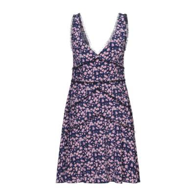ディースクエアード DSQUARED2 ミニワンピース&ドレス ダークブルー 38 シルク 100% ミニワンピース&ドレス