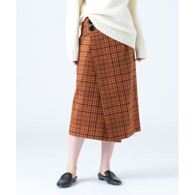 KENT / RAGGED CHECK スカート