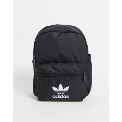 アディダス adidas Originals レディース バックパック・リュック バッグ Trefoil Mini Backpack In Black ブラック
