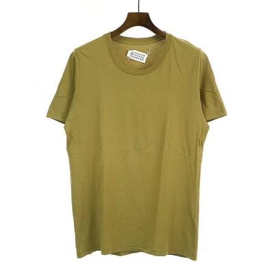 Maison Martin Margiela10 メゾン マルタン マルジェラ10 16SS PACK TEE UネックプレーンTシャツ ベージュ M メンズ