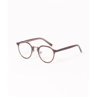 SPINNS / ボストンタイプ伊達眼鏡 MEN ファッション雑貨 > メガネ