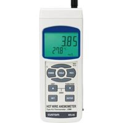 カスタムカスタム デジタル風速/風量計 WS-06(直送品)