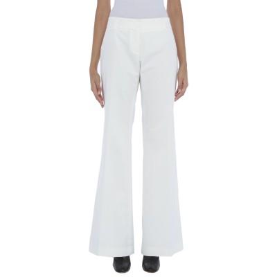 ロートレ ショーズ L' AUTRE CHOSE パンツ ホワイト 44 コットン 97% / ポリウレタン 3% パンツ