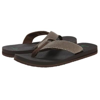 サヌーク Sanuk メンズ サンダル シューズ・靴 Yogi 4 Brown Weave