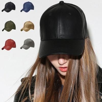 レザーキャップ スポーツ帽子 レディース メンズ 野球帽 防寒 CAPハンチング 小顔効果(宅急便のみ対応)