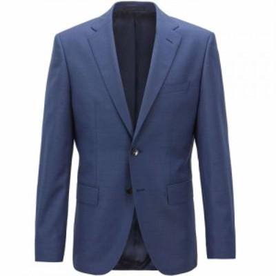 ヒューゴ ボス Boss メンズ スーツ・ジャケット アウター Johnstons Blazer Medium Blue