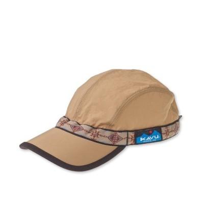 帽子 キャップ 【MADE IN USA】KAVU/カブー SYNTHETIC STRAPCAP/シンセティックストラップキャップ