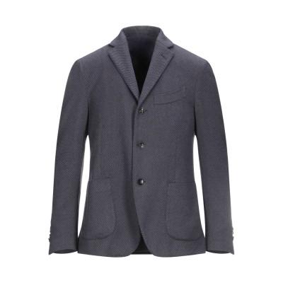 ラルディーニ LARDINI テーラードジャケット ブルーグレー 50 コットン 58% / ウール 23% / ナイロン 19% テーラードジャケ