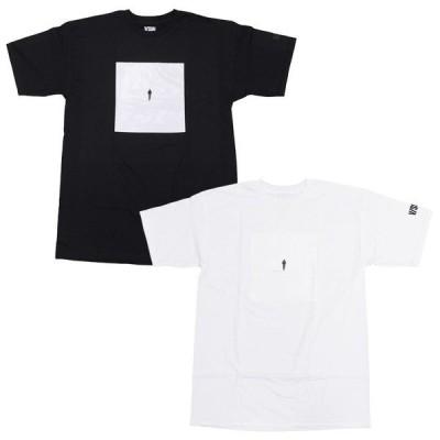 V/SUAL ヴィジュアル ビジュアル JASON M PETERSON ONLY TEE 2色 半袖Tシャツ カットソー 黒 ブラック 白 ホワイト