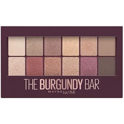 (メイベリン アイシャドウ パレット) Maybelline New York Eyeshadow Palette Makeup The Burgundy Bar 0.33 Ounce