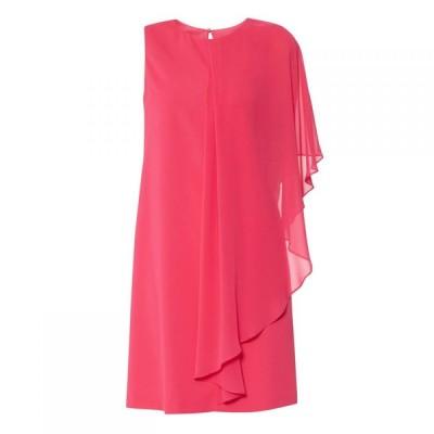 ジーナ バッコーニ Gina Bacconi レディース ワンピース ワンピース・ドレス Aletta Crepe Chiffon Dress Fuchsia
