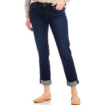 カットフロムザクロス レディース デニムパンツ ボトムス Catherine Roll-Up Cuff Boyfriend Jeans