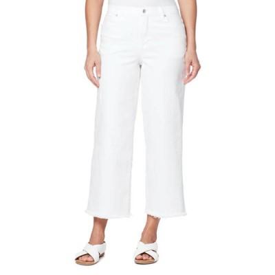 グロリアバンデービルト レディース カジュアルパンツ ボトムス Women's Wide Leg Cropped Pants