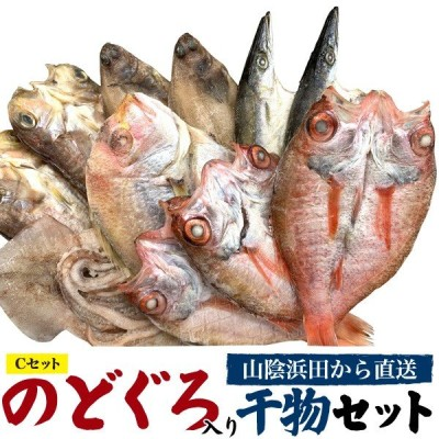 のどぐろ干物大サイズ3枚入り 高級干物Cセット(6種11枚セット) 島根県・山陰浜田直送